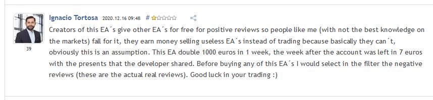 EA Gold Stuff Review Ignacio Tortosa - EA Gold Stuff